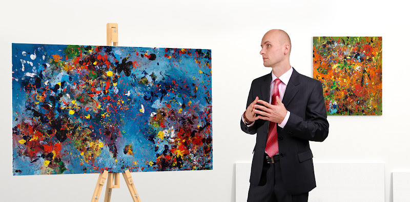Photo: MOA bin 1B -Oil painting on canvas 150x90 cm Painted by Radim Kacer 2014