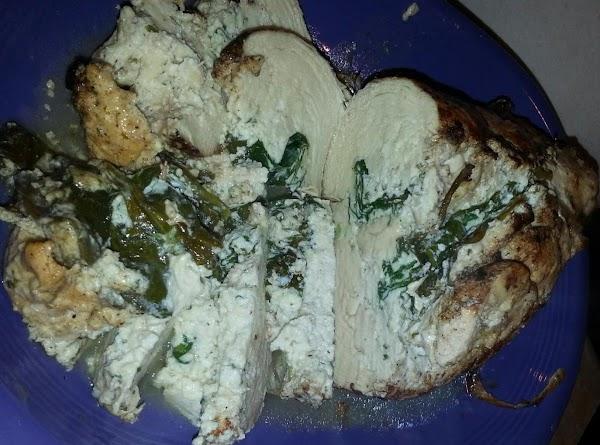 Ricotta & Spinach Stuffed Chicken Breast Recipe