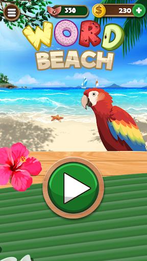 Word Beach : Reliez les mots , Jeu drôle de mots  captures d'écran 4