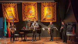 Actuación de la Escuela Municipal de Música el pasado fin de semana en el inicio del festival.