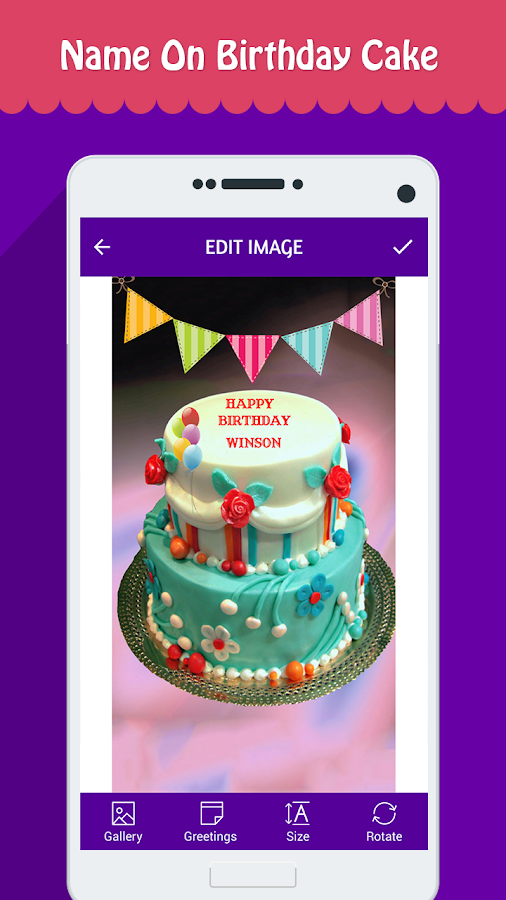 Name On Birthday Cake - Android Apps on Google Play