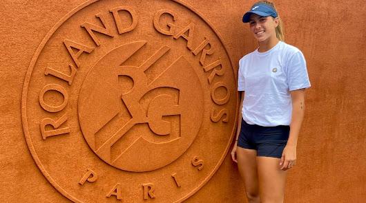 Eva Guerrero hace historia en Roland Garros