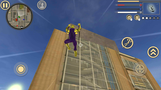 Spider Rope Hero Frog Strange Ninja Gangster Crime 1.0 screenshots 10