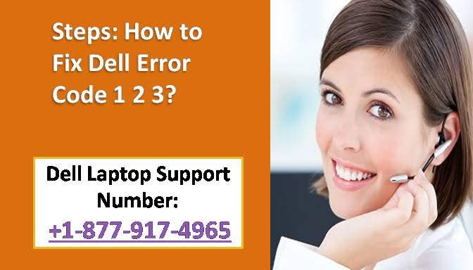 How to Fix Dell Error Code 1 2 3