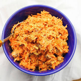 Carrot and Raisin Salad.