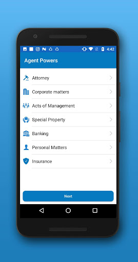 Screenshot for E-POA in United States Play Store