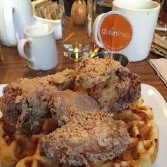 Gluten free chicken and waffle