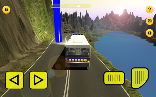 玩免費模擬APP|下載警察職員のバス交通の3D app不用錢|硬是要APP