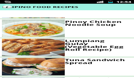 Filipino food recipes apps on google play screenshot image forumfinder Gallery