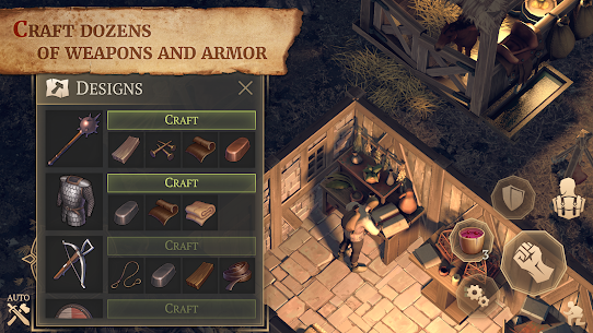 Grim Soul: Dark Fantasy Survival MOD (Free Craft) 2