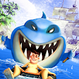 Angry Shark Adventure World : Megalodon Attack 3D icon