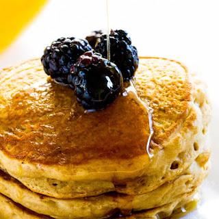 Vegan Fluffy Pancakes.