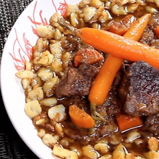 Pop's Beer-Braised Bold Beef Stew