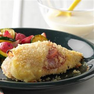 Oven Chicken Cordon Bleu