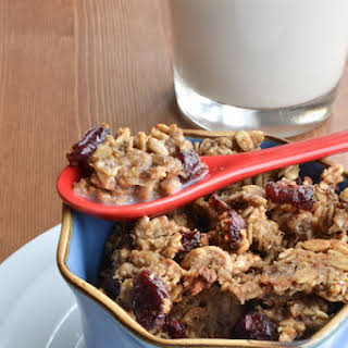 Cranberry Oatmeal Cookie Cereal 2 servings.