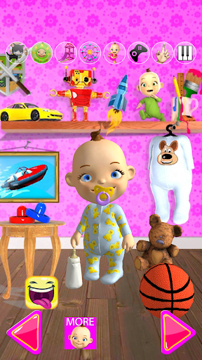 Talking Babsy Baby  screenshot 1