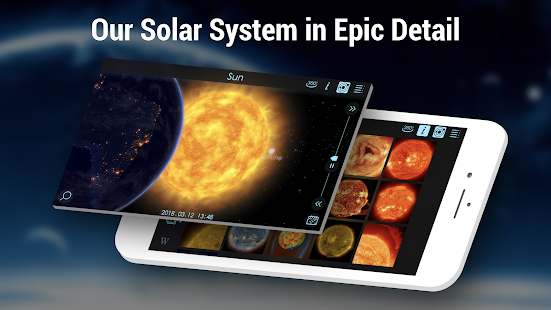 Solar Walk 2 Free:Encyclopedia of the Solar System Screenshot