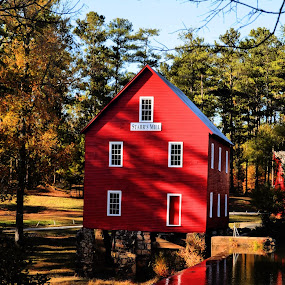 Starr's Mill by Kim Welborn - Buildings & Architecture Other Exteriors ( nikon d700 )