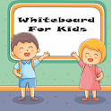 Whiteboard for kids icon