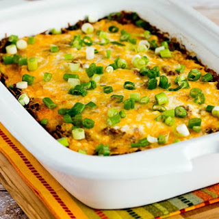 Slow Cooker Low-Carb Mexican Lasagna Casserole