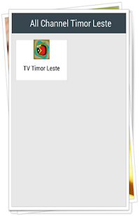 All Channel Timor Leste - náhled