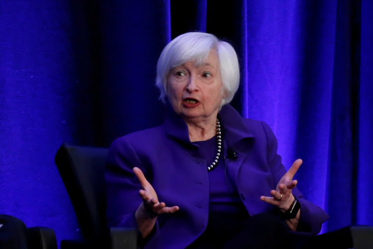 Janet Yellen. Picture: REUTERS/CHRISTOPHER ALUKA BERRY