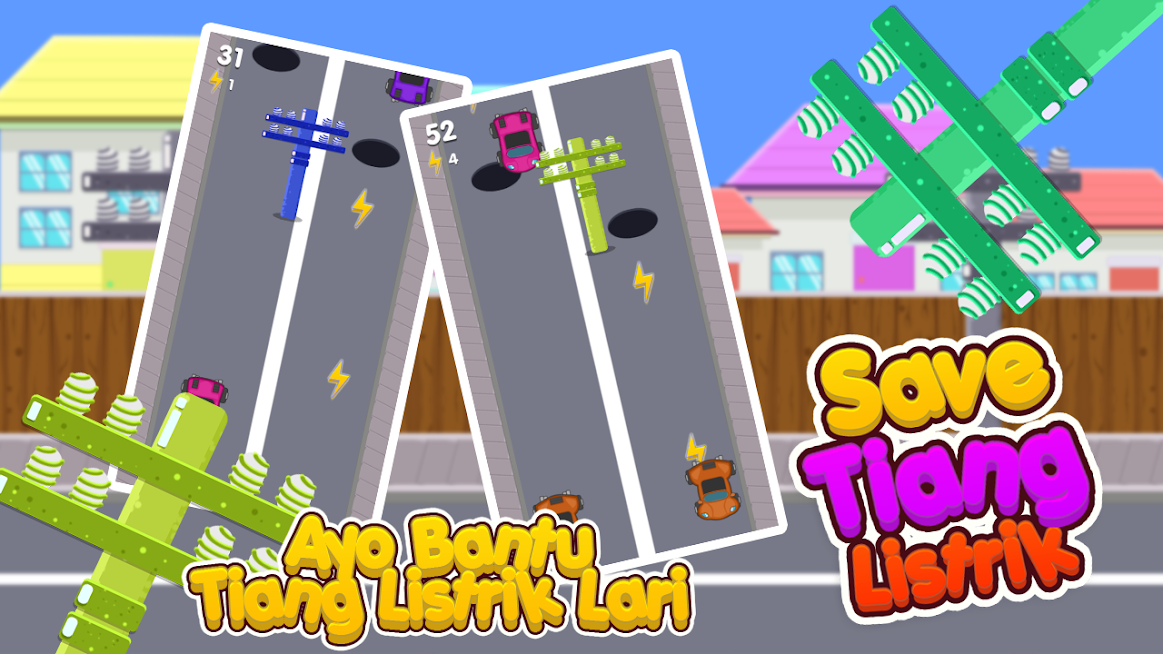 Download Game Papa Setnov Save Tiang Listrik Seru