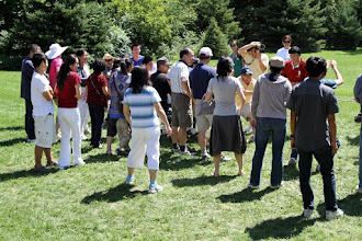 Photo: Helped with New Century Choir 2012 summer picnic. Scene 2.