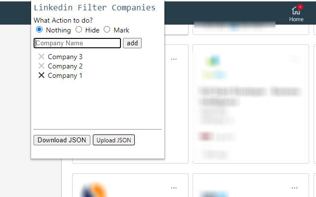 Linkedin Filter Companies