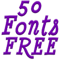 Fonts for FlipFont 50 #5 icon