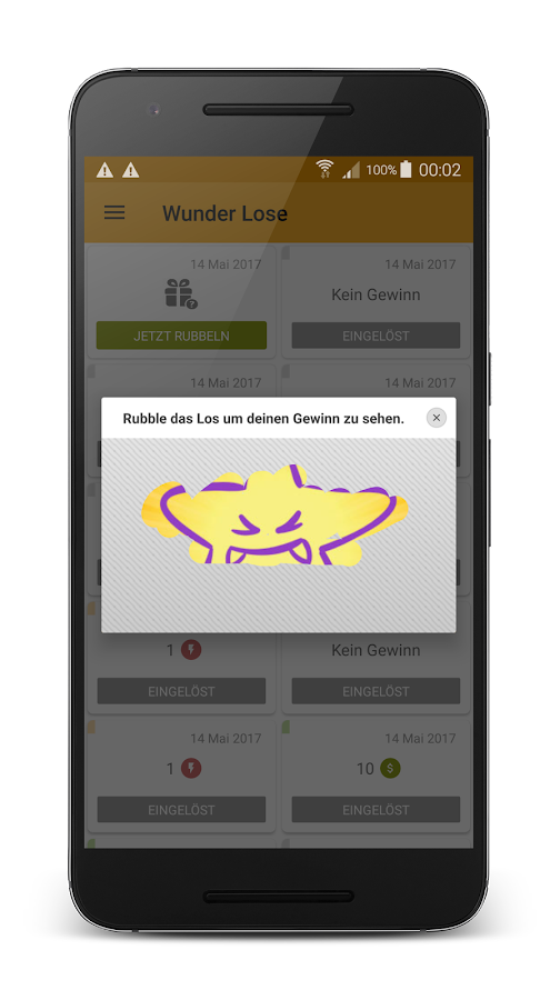 Lotto Wunder – Gratis Lotto – Screenshot
