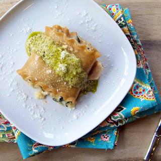 Turkey Florentine Lasagna Rolls