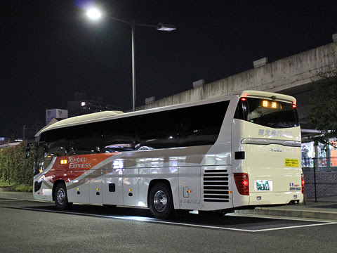 東北急行バス「ルブラン号」 ・910 リア