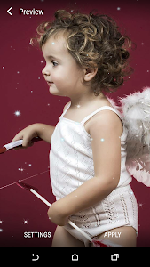 Baby Cupid Live Wallpaper screenshot 2