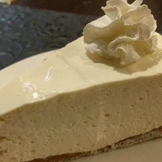 Low Carb No Bake Cheesecake.