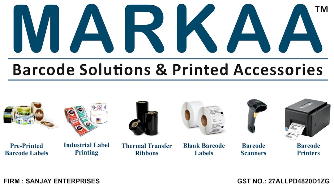 Markaa - Barcode Solutions & Printed Accessories - Barcode Labels