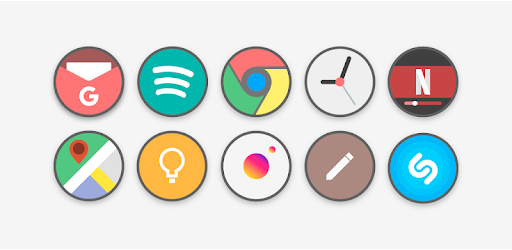 Flat Circle - Icon Pack - Apps on Google Play
