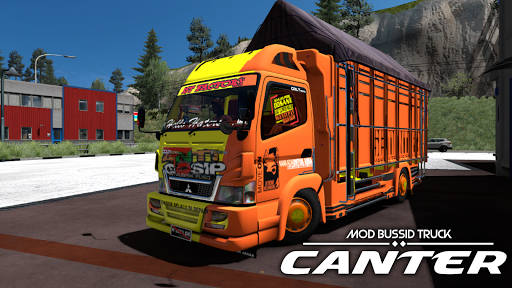 Livery MOD Truck Canter Apk 1