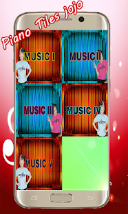Jojo Siwa Piano Tiles Screenshot