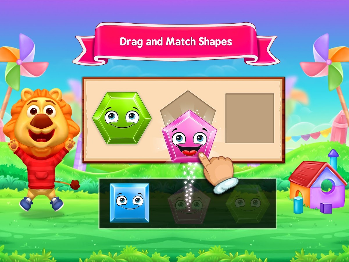 Colors & Shapes - Kids Learn Color and Shape- screenshot