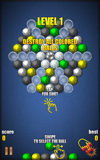 Magnetic Balls HD Free: Match 3 Physics Puzzle 2.2.0.9 screenshots 11