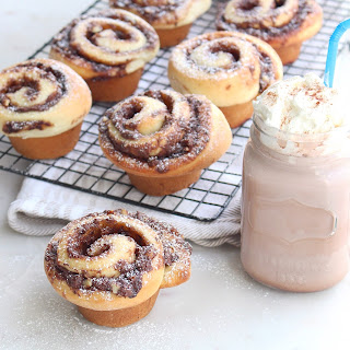Dark Chocolate Espresso Cinnamon Buns