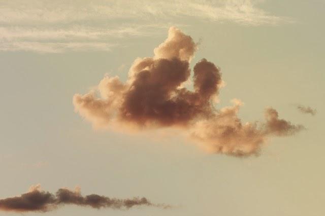 Beweging, wolken, lucht