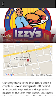 Izzy's- screenshot thumbnail