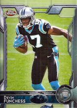 Photo: Devin Funchess 2015 Topps Chrome RC