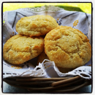 Paleo Southern Almond Biscuits.