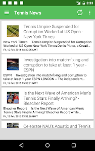 Tennis News Surge screenshot 5