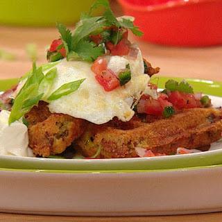Huevos Rancheros Taco Waffle
