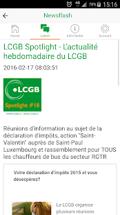 LCGB News- screenshot thumbnail
