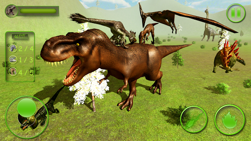 Real Dinosaur Simulator Games u2013 Dino Attack 3D 1.4 screenshots 1